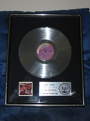 "Midnight Star Riaa Platinum Album Award For ""no Parking On The Dance Floor"""