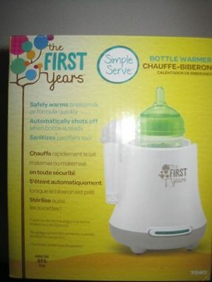 NEW! The First Years Quick Serve Bottle Warmer - Multiple Variations