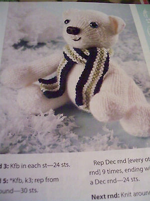 Ducklings Stuffed Animal Toy Knitting Pattern Vintage 7 99 Picclick