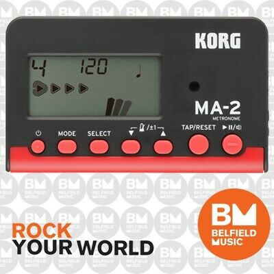 Korg MA-1 Digital Metronome Red For Drum Guitar Piano MA1 - BNIB - BM