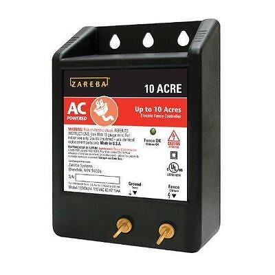 Zareba 10 ACRE AC Powered Solid State Fence Charger New