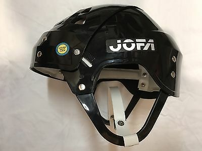 Black Vintage Brand New Super Rare Wayne Gretzky Collectible Jofa Hockey Helmet
