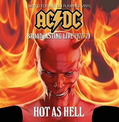 AC/DC Hot As Hell Broadcasting Live 1977 - 79 vinyl LP NEW/SEALED