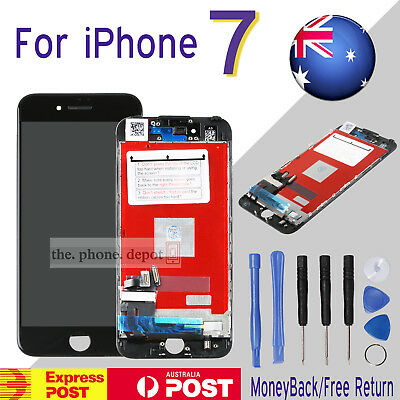 "Replacement For iPhone 7 LCD 4.7"" 3D Touch Screen Digitizer Display Assembly AU"