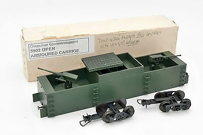 REModel HO WAGON MILITAIRE BLINDE DCA WWII CCCP URSS CCCP USSR TOY