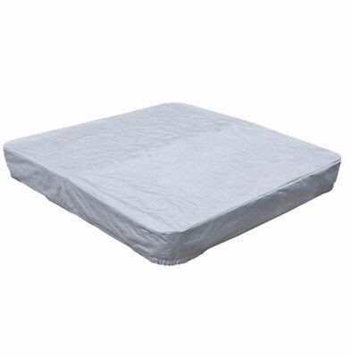 Square Spa Cover Guard Durable Woven Polyethylene Made Waterproof UV Resistant
