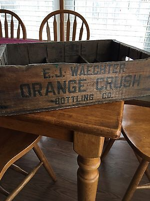 Vintage Soda Crate Orange Crush