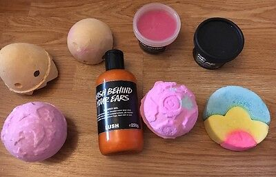 LUSH LOT NOT PERFECT NEW FRESH INCLUDES WASH BEHIND YOUR EARS GEL 250g