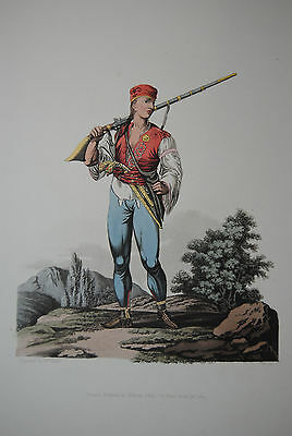 The Costume of the Heredity States of Austria - 21 Umrißradierungen - 1804