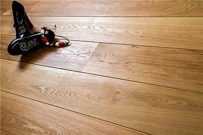 Engineered Oak Wood Flooring - Brushed Oiled - Click System - 15x4x148 - £24.99