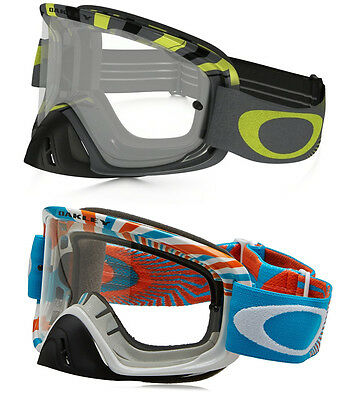 Oakley O-Frame 2.0 Motocross 02 Mx Goggles Rpm Clear Lens
