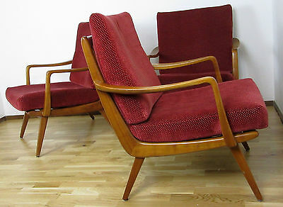 3x Sessel, Easy Chair, Club, Vintage,Mid Century,Danish Design, 60er, Loft Retro