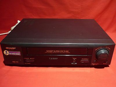 Sharp Vc-A220 Video Vhs Vcr Player No Remote Working Great For Transfer