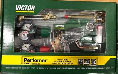 Victor 0384-2125 Performer Torch Set Edge 2.0 (Replaces 0384-2045 Part Number)