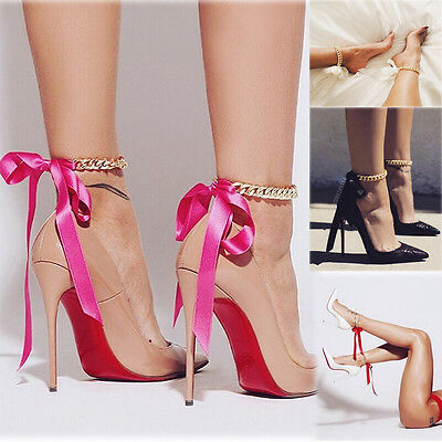 Women Barefoot Sandals Gold Foot Jewelry Bracelet Wedding Party Ankle Chain