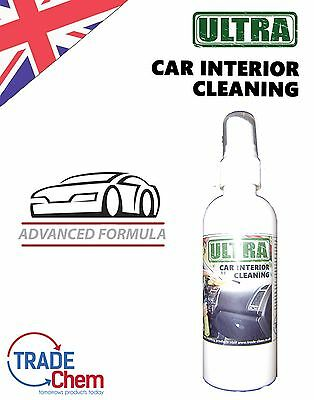 ULTRA CAR INTERIOR Cleaner & Degreaser 125ml Variable Quantity Trade Chemicals