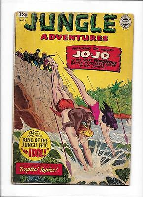 "Jungle Adventures #17 [1964 Gd] ""the Idol!"""