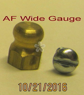 American Flyer Wide Gauge Trim – Pop-Off Valve (Brass) (NEW)