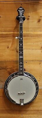 Gretsch G9400 Broadcaster Deluxe 5 String Resonator Banjo Store Display MINT
