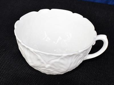 "Vintage COALPORT Bone China England All White COUNTRY WARE 3 3/4""d Cup"