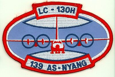 Vintage USANG LC-130H 139 Air Squadron New York Air National Guard Patch USAF