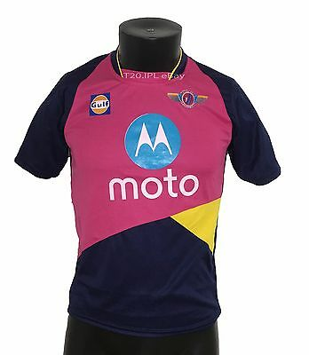 IPL 2017 Rising Pune Supergiants Jersey / Shirt, T20, Cricket India RPS