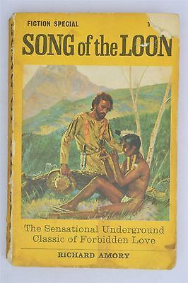 Song Of The Loon Richard Amory 1969 Vintage Erotica Gay Men's Adult Fiction Book