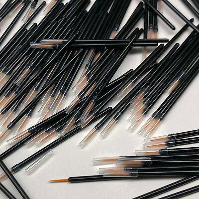 2000 Wholesale Disposable Eyeliner Applicators Lash Grow Serum Brush Wands #5045