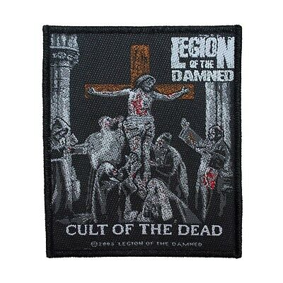 """""""Legion of the Damned: Cult of the Dead"""" Death Metal Band Sew On Applique Patch"""