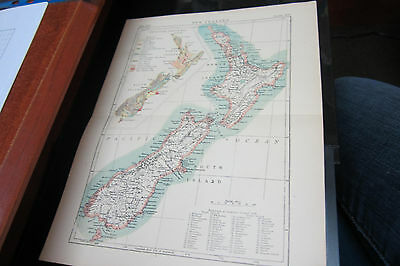 Oceania: 3 maps Australia Wester, New Zeland and New Caledonia - Guinee. MD*04