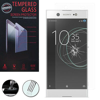 """Lot/ Pack Film Verre Trempe Protecteur Protection Sony Xperia XA1 Ultra 6.0"""""""