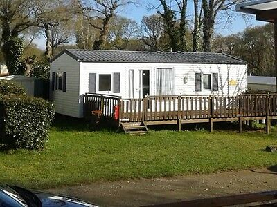 Caravan Mobile Home Holiday Hire Brittany 6/8 Berth 1 Week 26th August Quinquis