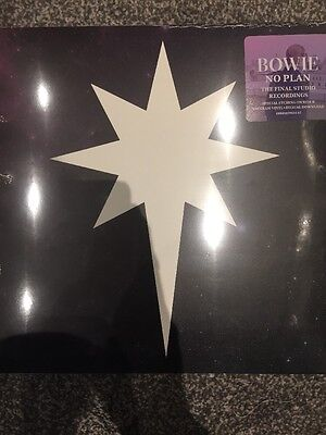 "David Bowie 12"" No Plan 2017 Final Recordings Etched Vinyl 180g New and Sealed"