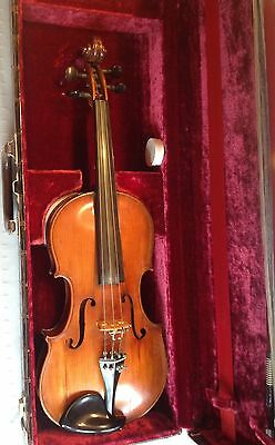 Late 19th Century French Violin, Artist Grade. Original Finish.