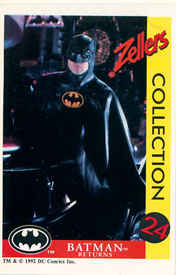Batman Returns Card Set (Zeller Collection, 1992)