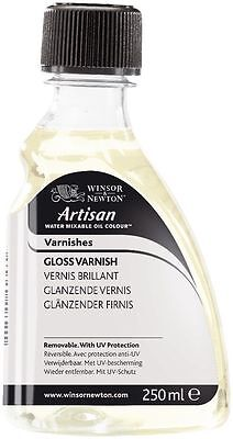 Winsor & Newton Artisan (Water Mixable Oil) Gloss Varnish 250ml (3039721)