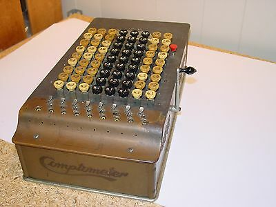 Comptometer Felt and Tarrant Chicago Vintage Adding Machine