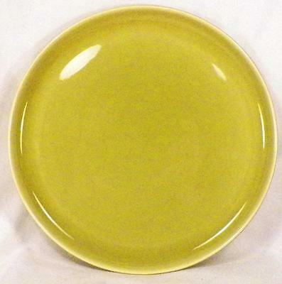 Russel Wright American Modern Dinner Plate Chartreuse Steubenville Mid Century