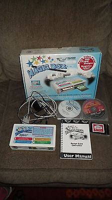 Magic Box Design Card Conversion Kit for Embroidery Machines + #1 Magic Card.