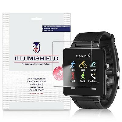 iLLumiShield - Garmin Vivoactive Screen Protector with Lifetime Replacement W...