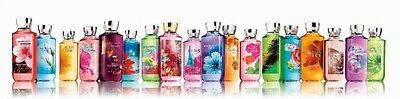 Bath and Body Works Shower Gel FULL SIZE Pick Your Scent FREE SHIP New Unopened