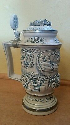 Vintage Racing Car Stein Avon collectible 1989 numbered Indy Car