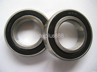 "US Stock 2pcs SR4ZZ RI814 Stainless Steel Ball Bearings 1//4/"" x 5//8/"" x 0.196/"""