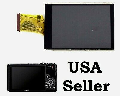 New LCD Screen Display For Sony DSC-HX9V DSC-HX30 V DSC-HX20 V DSC-HX100 V+Glass