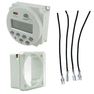 Daily Auto Digital LCD Power Programmable Timer Time Switch Timers Weekly CHEAP
