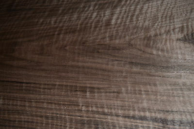 Walnut Raw Wood Veneer Sheets , 17 x 45 inches. 1/42nd thick            b7839-17
