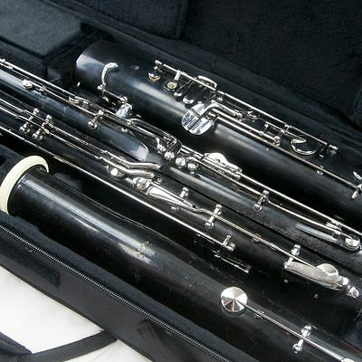 Fox Renard Model 41 Bassoon, Overhauled with all new pads & New Case!