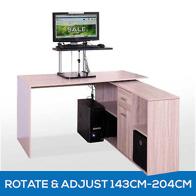 Scandinavian Office Computer Desk Table Home Study Furniture Drawer Cabinet