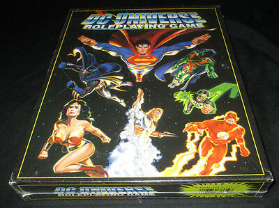 Dc Universe Roleplaying Game Sealed Oop Deluxe Box Set West End Games Rpg 1999