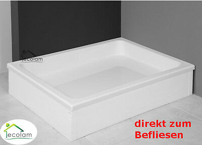 duschwanne duschtasse rechteck 100x80 120 x 90 x 26 cm dusche acryl grawello eur 229 00. Black Bedroom Furniture Sets. Home Design Ideas